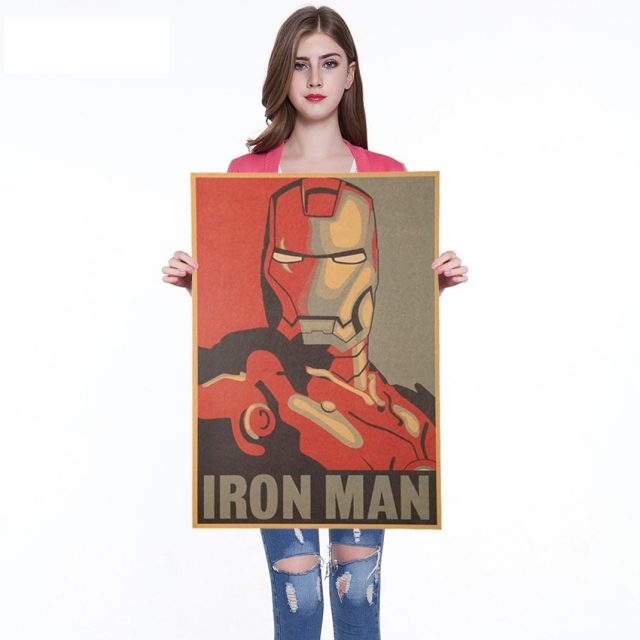 The Iron Man Poster